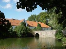 kasteelbrug Royalty-vrije Stock Afbeeldingen