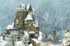 Kasteel Burg Eltz stock fotografie