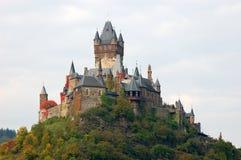 Kasteel Cochem in Duitsland royalty-vrije stock afbeelding