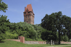 Kasteel complex in Tangermuende, Duitsland Royalty-vrije Stock Foto's