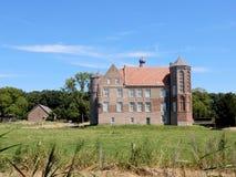 Kasteel Croy, Herenhuis, aarle-Rixtel, Laarbeek, Netherland Royalty-vrije Stock Fotografie
