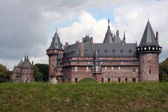 Kasteel de Haar Royalty Free Stock Photos