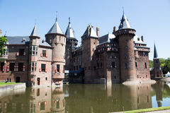 Kasteel DE Haar Nederland Royalty-vrije Stock Foto