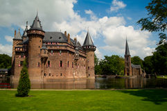 Kasteel de Haar Stock Photo