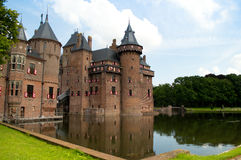 Kasteel de Haar Royalty Free Stock Photo