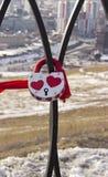 Kasteel in de vorm van een hart royalty-vrije stock afbeeldingen
