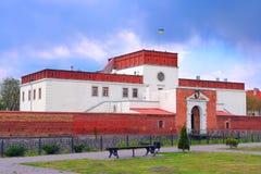 Kasteel in Dubno stock foto's