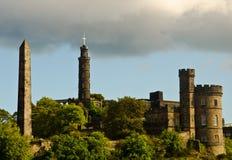 Kasteel Edinburgh Royalty-vrije Stock Afbeeldingen