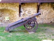 Kasteel en verdedigingsmuren van historisch fort Royalty-vrije Stock Foto's