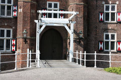 Kasteel en zijn omgeving Royalty-vrije Stock Foto's