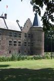 Kasteel en zijn omgeving in Nederland Stock Foto