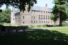 Kasteel en zijn omgeving in Nederland Stock Foto's