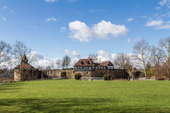 Kasteel Esslingen - Esslinger Burg royalty-vrije stock afbeeldingen
