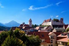 Kasteel in Fussen, Duitsland royalty-vrije stock foto