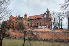 Kasteel in Gniew, Polen Royalty-vrije Stock Fotografie