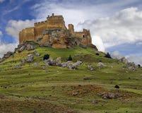 Kasteel Gormaz, Soria, Spanje stock foto