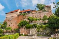 Kasteel in Graz, Oostenrijk royalty-vrije stock foto