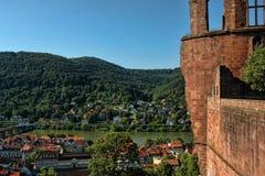 Kasteel Heidelberg Stock Fotografie