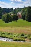 Kasteel in het park Royalty-vrije Stock Foto