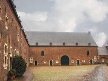 Kasteel Hoensbroek, один из самых известных голландских замков Стоковые Фотографии RF