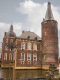 Kasteel Hoensbroek, one of the most famous Dutch castles. Royalty Free Stock Image