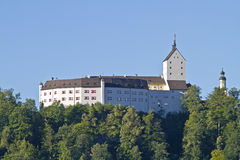 Kasteel Hohenaschau Stock Afbeelding
