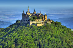 Kasteel Hohenzollern royalty-vrije stock foto's