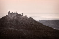 Kasteel Hohenzollern Stock Afbeeldingen