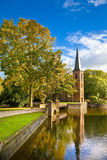 Kasteel in Holland Stock Afbeeldingen