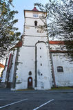 Kasteel Horazdovice royalty-vrije stock foto's