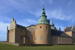 Kasteel in Kalmar - Zweden Royalty-vrije Stock Afbeelding