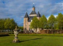 Kasteel Kasteel Heemstede in Nederland royalty-vrije stock foto