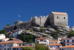 Kasteel in Kavala Royalty-vrije Stock Foto's