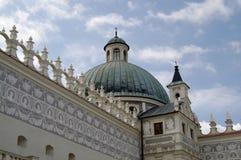 Kasteel in Krasiczyn 2. Royalty-vrije Stock Afbeeldingen