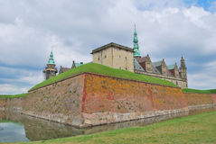 Kasteel Kronborg in Elsinore Royalty-vrije Stock Fotografie