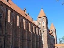 Kasteel in Kwidzyn. Polen  Stock Foto's