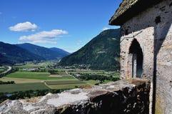 Kasteel Landskron, Carinthia, Oostenrijk Stock Afbeelding