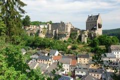 Kasteel Larochette - Larochette - Luxemburg royalty-vrije stock foto's
