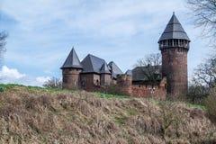 Kasteel Linn - Krefeld - Duitsland Stock Afbeeldingen
