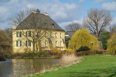 Kasteel Linn - Krefeld - Duitsland Stock Afbeelding