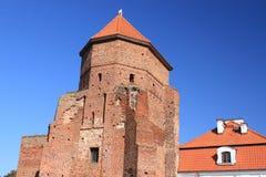 Kasteel in Liw (Polen) Royalty-vrije Stock Afbeelding