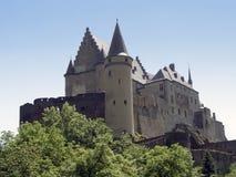Kasteel in Luxemburg stock afbeeldingen