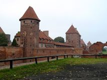 Kasteel in Malbork Stock Fotografie