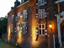 Kasteel Maurick Vught Royaltyfria Bilder
