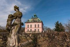 Kasteel Moritzburg dichtbij Dresden stock afbeeldingen