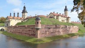 Kasteel Nesvizh in Wit-Rusland stock afbeelding