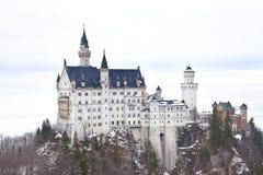 Kasteel Neuschwanstein in Duitsland Stock Afbeelding