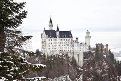 Kasteel Neuschwanstein in Duitsland Royalty-vrije Stock Foto's
