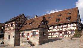 Kasteel Nuremberg Royalty-vrije Stock Foto's