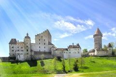 Kasteel in Oostenrijk royalty-vrije stock afbeeldingen